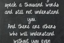 Inspirational Sayings - Friends