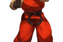 Desenho Street Fighter
