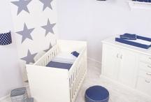 babykamer jongens blauw