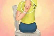 Posture stretches