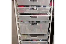 Makeup Storage Ideas / by Shan Wright