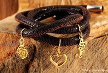 Fotografia biżuterii - BRANSOLETKI ZE SKÓRY / www.jaceklitwin.com