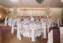 Venue Dressing / Wedding venue dressing ideas and inspiration..