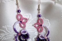 Chiacchierino e gioielli / Gioielli realizzati al chiacchierino