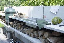 Utekjøkken/outdoor kitchen