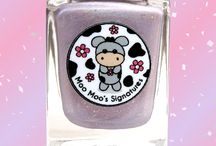 Lonely Lilac (LE) / A pastel lilac holo flashes rose with sterling silver flakies, silver holo glitters, silver shimmer and tiny pink and purple flakies.