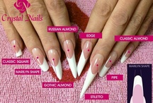 Nail shapes. / Get it right!