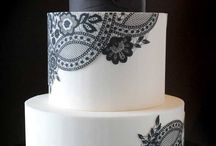 sugar lace cakes