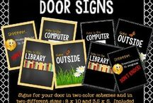 Ideas to decorate your classroom