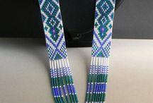 beadwork; patterns and inspiration