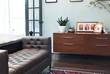 home: living rooms / by Sandra Fleming