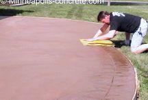 Бетон / Работа и поделки из бетона