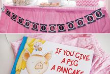 Pajama party decor / Stand decor