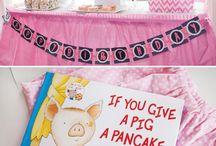 Wilbur pancake party
