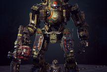 Mecha / Роботы и прочие приблуды