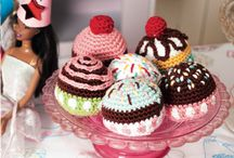 Crocheted food stuffs. / by Heather Texter