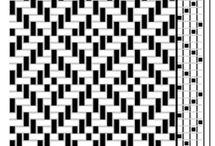 схемы ситцевого плетения