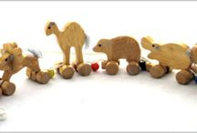 Wooden Toys / Wooden Toys often last longer and help to stimulate your child's mind