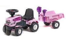 Farm toys in PINK