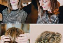 DIY hair to wedding