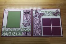 stampin up scrap page ideas