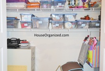Craft Room ~ For the love of crafting / by HouseOrganized