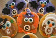 Dia das bruxas biscoito