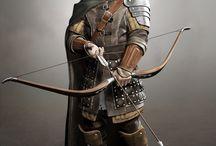 Archer,Crossbowman, Handgonnier