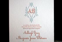 All things Pressed / Letterpressed Invitations and Stationery