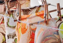 Ebru marbling  art