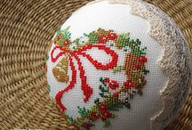 Haftowane Święta/Cross-stitched Christmas