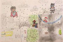 """Konkurs Palstyczny - """"Zimowe szaleństwo"""" / Konkurs przeznaczony był wyłącznie dla dzieci pracowników firmy ELITA Sp. z o. o.Prace były oceniane przez jury oddzielnie w dwóch kategoriach wiekowych:  dzieci 1 - 6  lat, 7-14 lat. Wszystkie prace były wspaniałe i różnorodne pod względem techniki."""