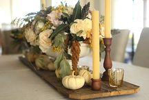 Thanksgiving Table / Great ideas for a special Thanksgiving holiday