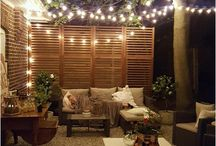 terrace lighting ideas