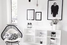 black&white interior inspirations