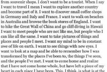 I❤️to travel