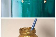 'In a jar'