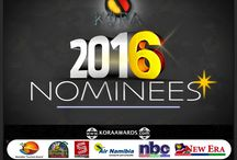 #KORA2016 NOMINEES / Dear friends, you were expecting this exciting day, right now you got it ! Let's celebrate the finest African talents on March 20th, 2016 at Windhoek, Namibia.  Here are the Nominees... Stay tuned!