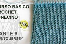 tunisian crochet / nuevos retos