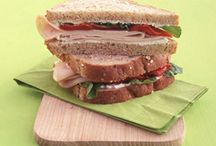 Lunch: Sandwiches, Soups, and Other Foods for Midday Meal / Foods that are suitable for a midday meal to keep you full until the next meal.