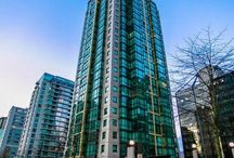 """Coal Harbour APARTMENT - 1367 ALBERNI ST / Extended stay apartment rental at """"The Lions"""" building. Convenient  located in Vancouver's prestigious community, Coal Harbour. Best of both worlds, this furnished 1 bedroom apartment is the perfect spot, walking distance to the cities hotspots while feeling privately tucked away and close to the harbour front.  #CoalHarbour #RentDownTown  #AvailableForRent #RentVancity #VRPrentals #weluvrentals #HomeSweetHome #RentWithVRP"""
