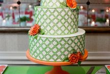 Wedding Cakes / Beautiful Wedding Cake Design with Floral accents / by Bergerons Flowers