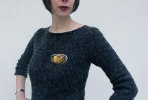 My work-2013 / Knitwear designed by me