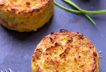 Potato dishes / Potato oven cakes