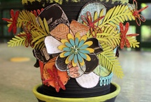 Craft Ideas-Pots / by Debbie Clemens