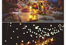 outdoor wedding lighting / by Superlative Events