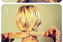Boho chic Hair och Style