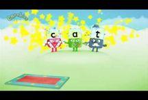 School - Smartboard - CVC words / by Sandy Shook