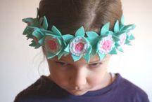 headband, children, felt