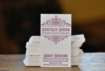 Business Cards / by Darcy Hinrichs
